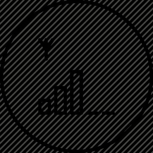 antena, digital, mobile, netwrok, signal icon