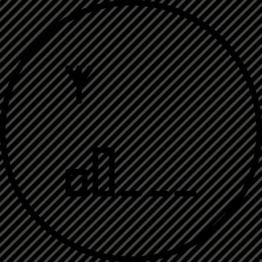 antena, digital, mobile, network, signal icon