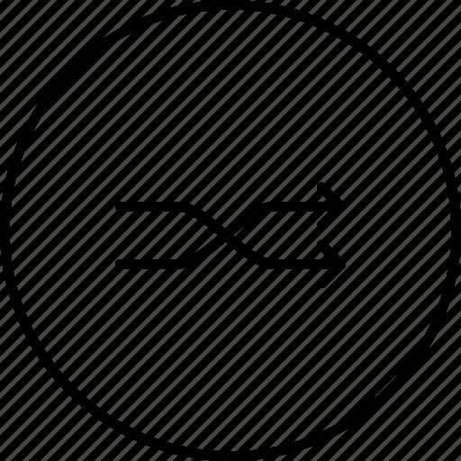 mix, order, play, random, shuffle icon