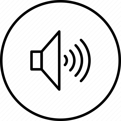 level, music, sound, speaker, volume icon