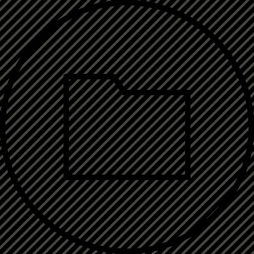 arhive, case, document, folder, storage icon