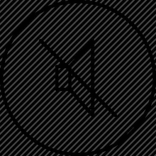 mute, silent, sound, voice, volume icon