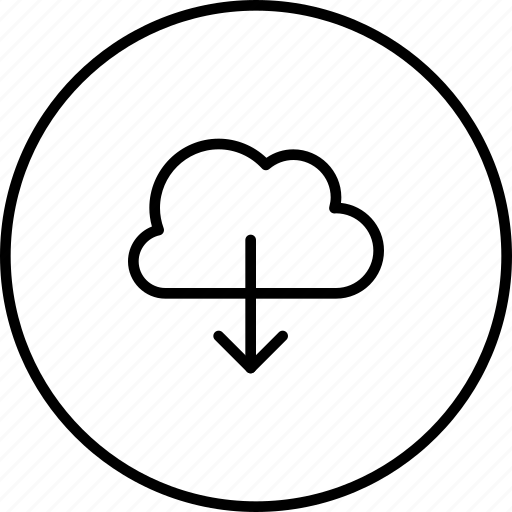 cloud, data, download, guardar, save, storage, transfer icon
