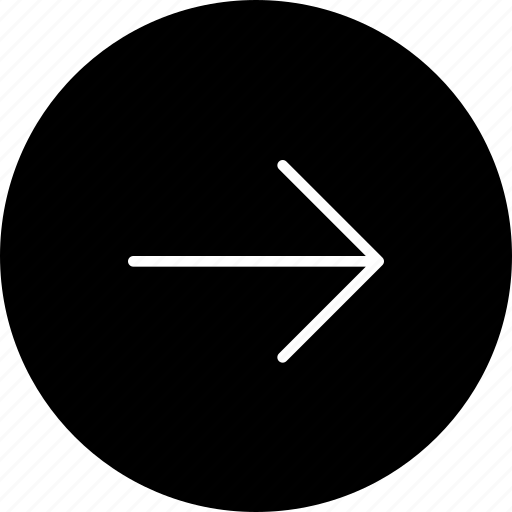 direction, following, navigate, next, right icon