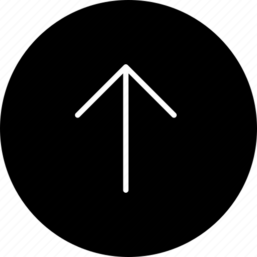 arrow, direction, navigate, top, up icon