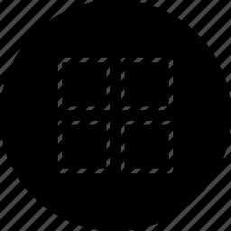 arrange, grid, list, show, view icon