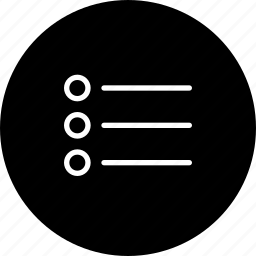 align, arrange, line, menu, settings, view icon