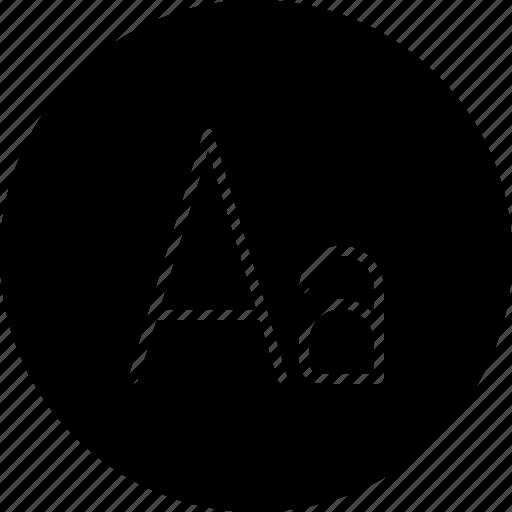 font, message, text, type, write icon