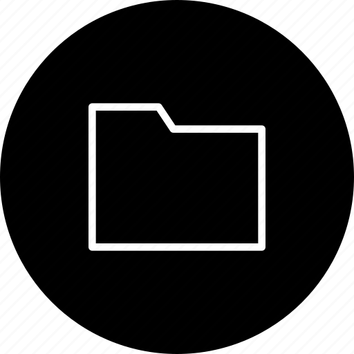 data, document, file, folder, media icon