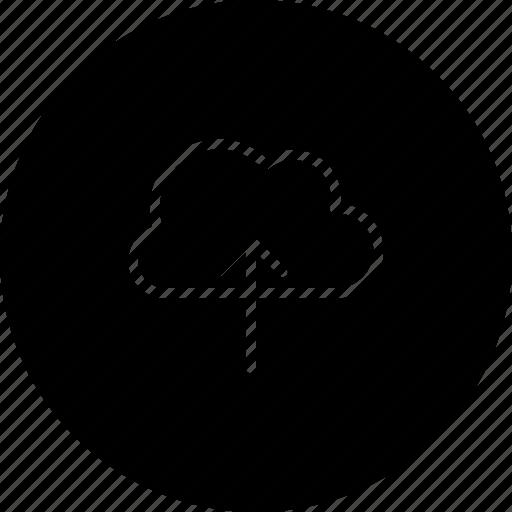 cloud, data, storage, transfer, upload icon