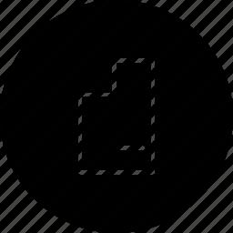clear, document, erase, file, remove icon