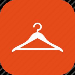 cloths, hange, hanger icon