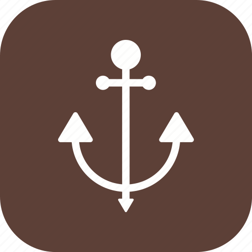 anchor, cruise, ship icon