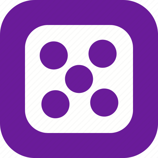 Casino, dice, five icon - Download on Iconfinder