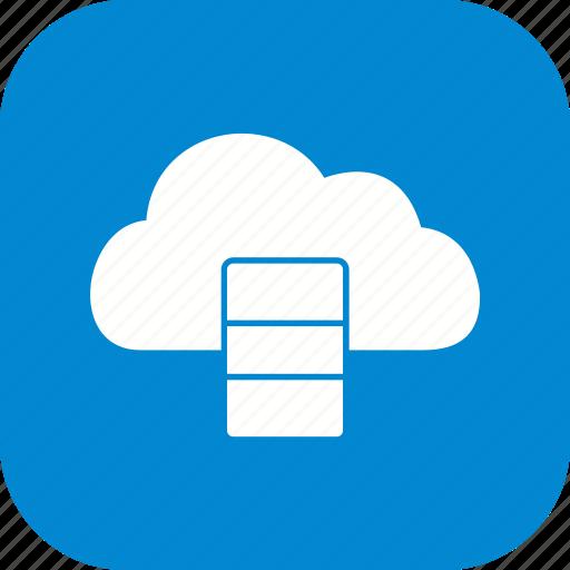 Cloud, server, data base icon - Download on Iconfinder
