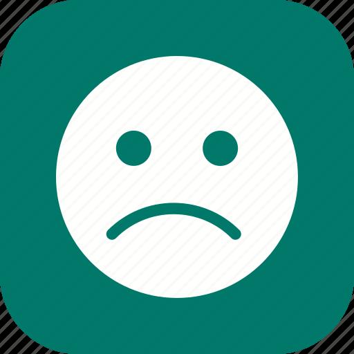 Emoji, emoticon, sad icon - Download on Iconfinder