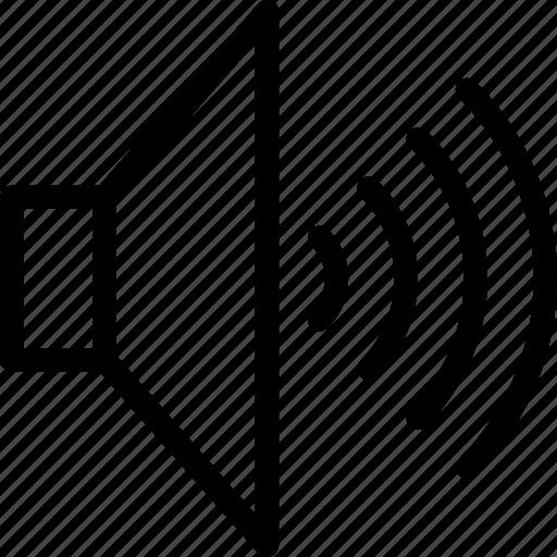 audio, sound, speaker, voice, volume icon