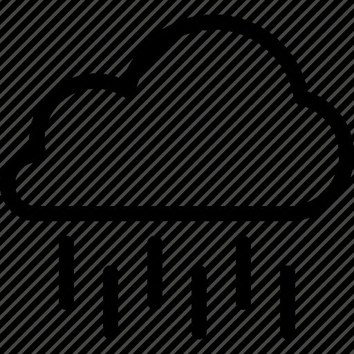 cloud, drop, rain, storm, water, weather icon
