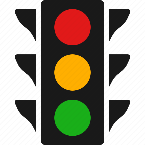 color, light, lights, signal, signals, stop, traffic icon