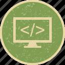 code, development, programming icon