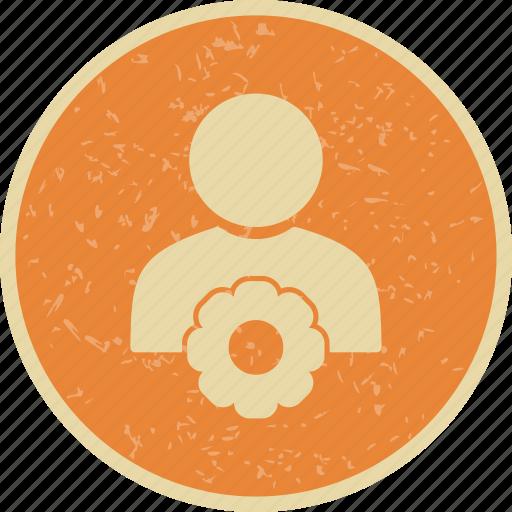 profile, settings, user icon