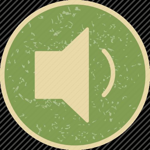 low, speaker, volume icon