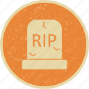death, grave, halloween, tomb icon