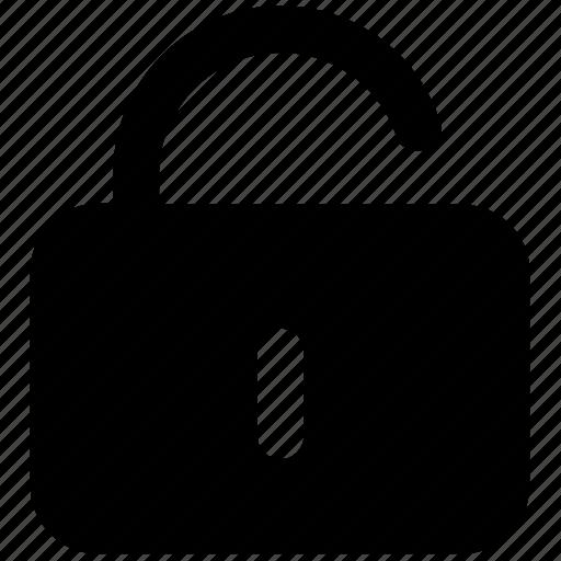 login, open, secure, security, unlock, unlocked icon