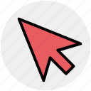 arrow, cursor, mouse, mouse arrow, pointer icon