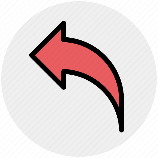 arrow, back, direction, left, left arrow icon