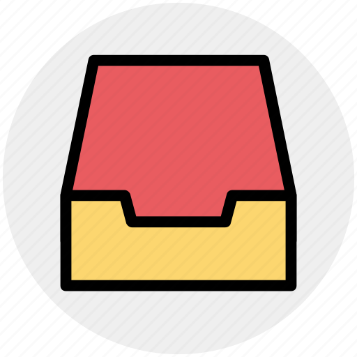 achieve, documents, draw, folder, mailbox icon