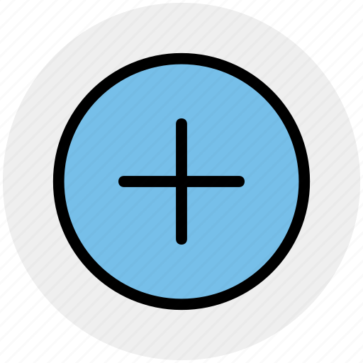 add, create, interface, new, plus, plus sign icon