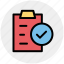 file, good, page, paper, pencil, sheet icon