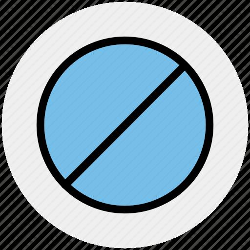 ban, ban sign, cancel, no, no entry, prohibit icon