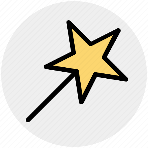 blink, christmas stick, magic, magical, star stick, stick icon