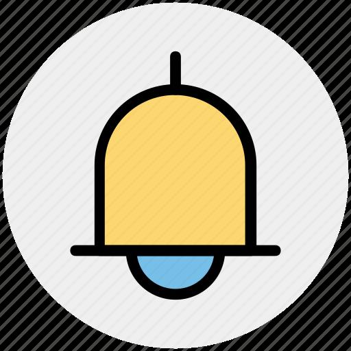 alert, bell, notification, ring, school bell, sound icon