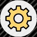 cog, engine, gear, setting, setup