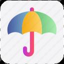protection, umbrella, rain, weather, wet, forecast