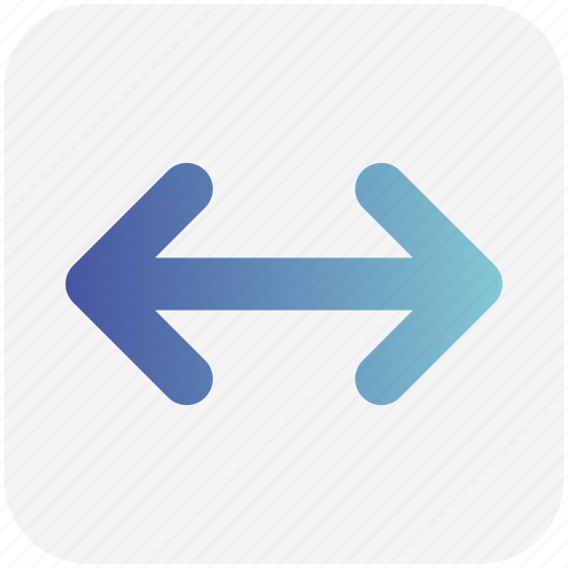 arrow, arrows, data transfer, right and left, transfer icon
