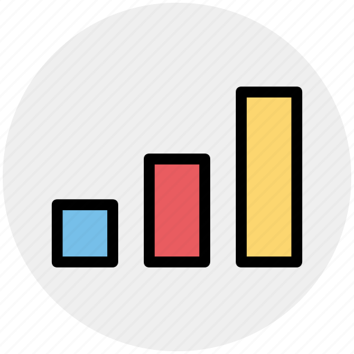 bar, chart, diagram, graph, pie chart icon