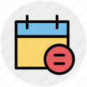 agenda, appointment, calendar, date, day, schedule icon