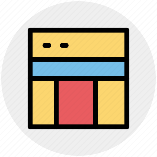 link, page, template, web, web page, web sites icon
