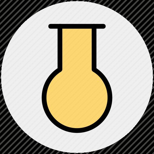 bottle, chemistry, experiment, test tube, tube icon