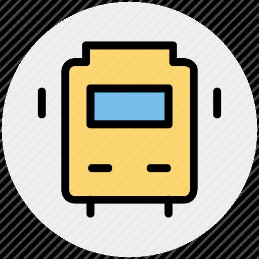 bus, school, school bus, transport, vehicle icon