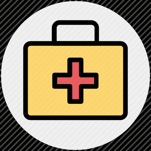 bag, briefcase, doctor, doctor bag, medical bag, suitcase icon