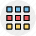 batch, collection, gallery, group, inventory, menu, set icon