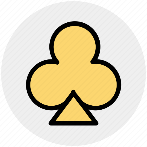 casino, clubs, gambling, playing cards, poker, spades icon