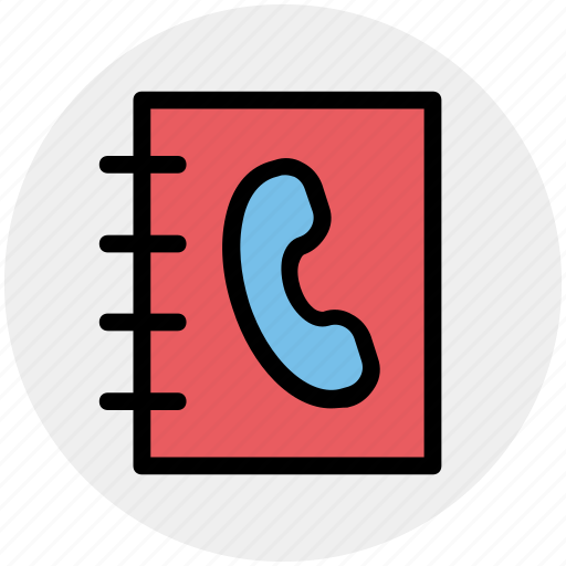address book, book, contacts book, contacts list, telephone contacts, user icon