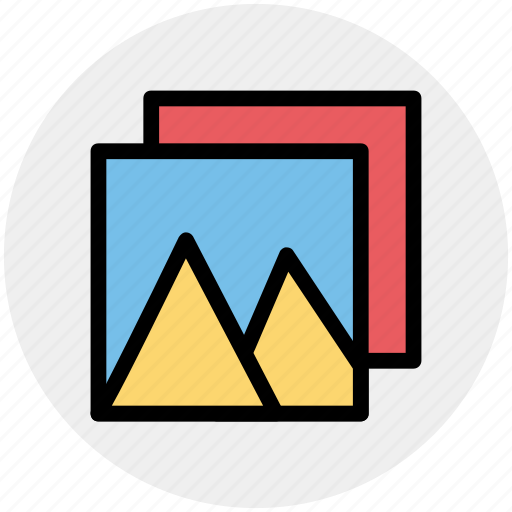 gallery, image, landscape, mountain, nature, photo, picture icon