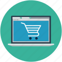 ecommerce, online buying, online marketing, online purchasing, online shopping, shopping cart icon